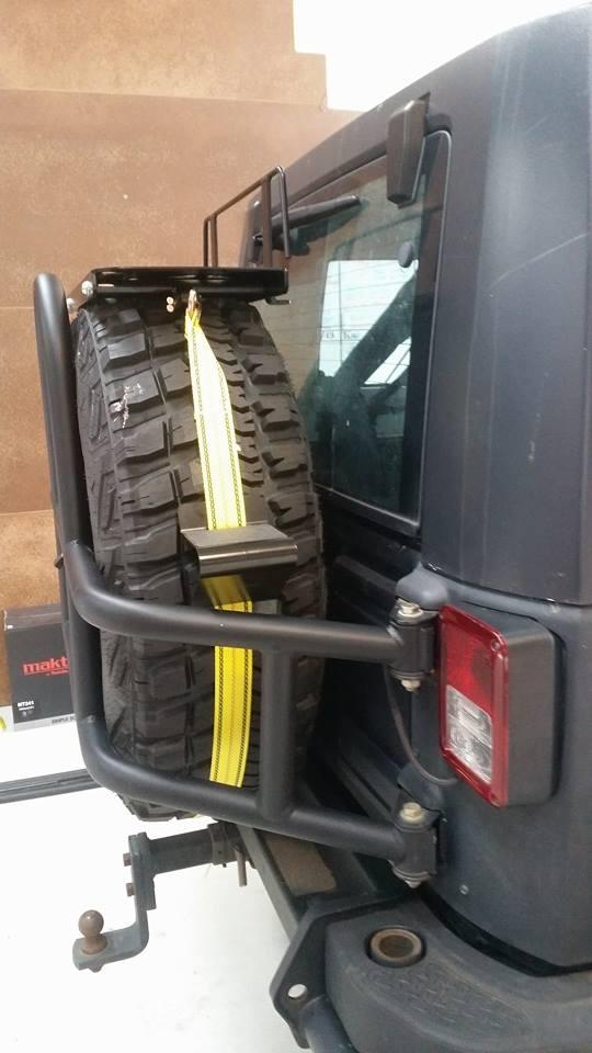 Rear wheel shelf Image